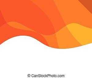 textura, plano de fondo, dinámico, naranja