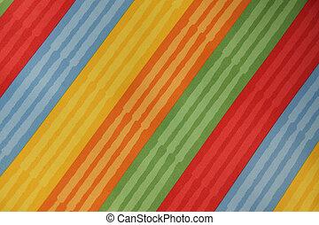 textura, rayado, textil, colorido