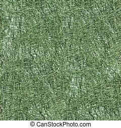 Textura sin costura de tela verde.