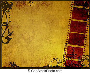 texturas, grande, fondos, filme