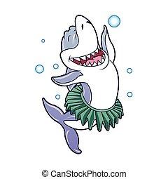Tiburón bailando