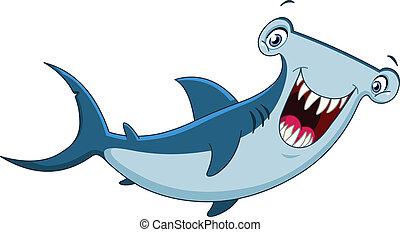 Tiburón cabeza de martillo