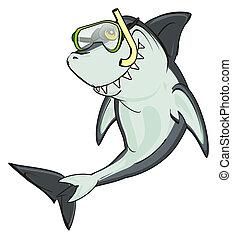 Tiburón enmascarado