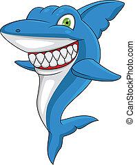 Tiburón feliz