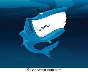 Tiburón sonriente