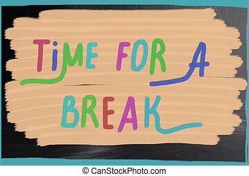 Tiempo de descanso