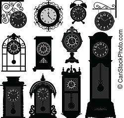 Tiempo de relojería antiguo