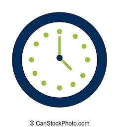 tiempo, icono, reloj, reloj