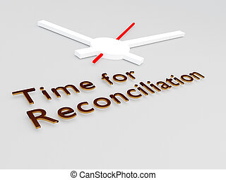 Tiempo para el concepto de reconciliación