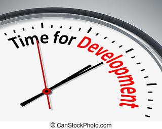 Tiempo para el desarrollo