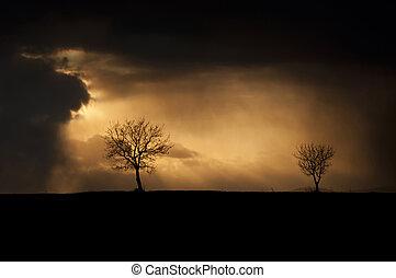 tiempo, tempestuoso