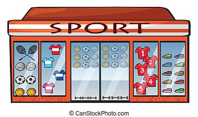 tienda, deportes