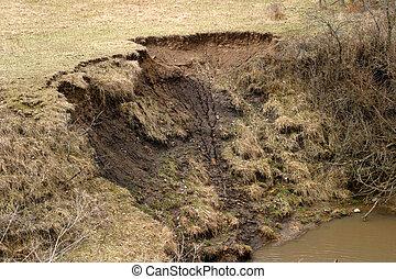 tierra, 2, erosión