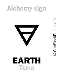 tierra, alchemy:, (terra)