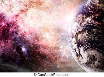 tierra, creación