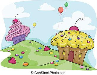 Tierra de tortas