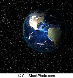 Tierra desde el espacio.