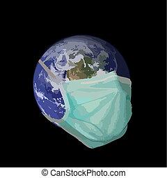 tierra, pandemia