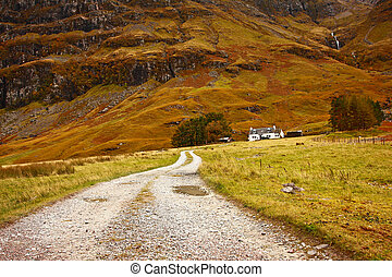 tierras altas, escocia, glencoe, reino unido, escocés