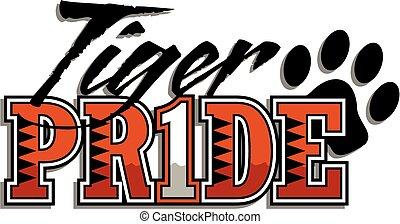 tigre, orgullo
