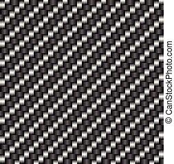 tileable, patrón, fibra, carbón