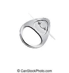 Tira del anillo