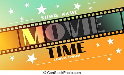 tira, tiempo, película de la película, plano de fondo, estrellas