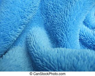 Toalla azul terry terry