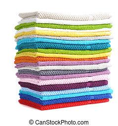 Toallas coloridas