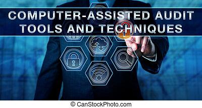 Toallas y técnicas computarizadas