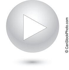 Toca el botón gris