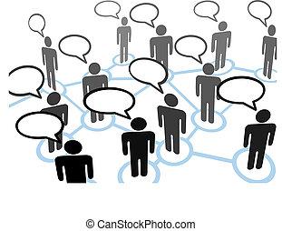 Todo el mundo habla de la red de comunicaciones de burbujas