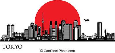 Tokio Silueta