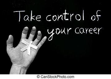 Toma el control de tu carrera