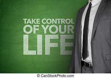 Toma el control de tu vida en la pizarra