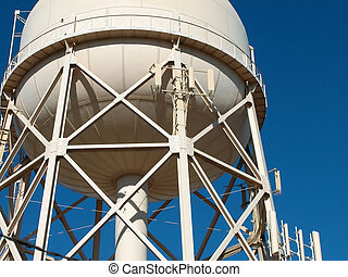 Torre de agua municipal
