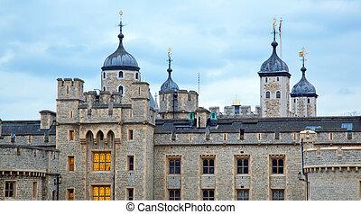 Torre de Londres al atardecer