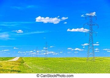 Torre de transmisión de energía