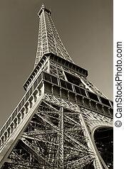 Torre Eiffel sepia