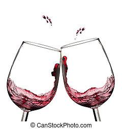 Tostadas de vino.