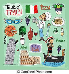 Tour de ilustración italia