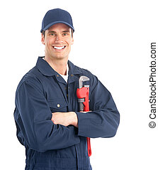 Trabajador de ciruelas