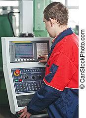 Trabajador de fabricación industrial