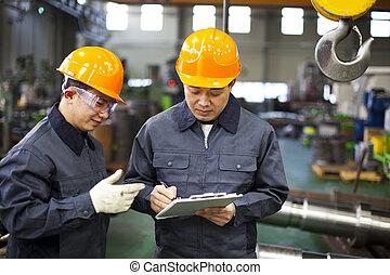 Trabajadores de fábrica