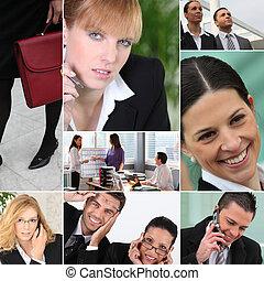 Trabajadores de oficina
