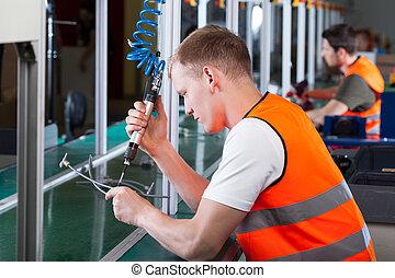Trabajadores de producción