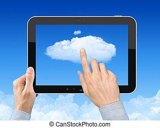 Trabajando con el concepto de computación de nubes