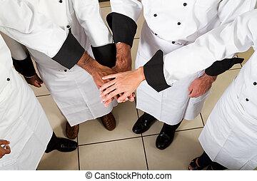 Trabajo de chef profesional