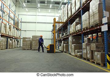 Trabajo en el almacén