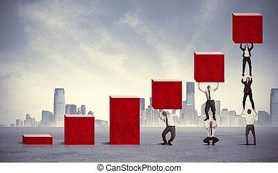 Trabajo en equipo y beneficios corporativos